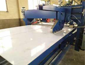 XPE Mat Broadside Cutting Machine for XPE Foam Wrestling Rollout Tatami Judo Mat