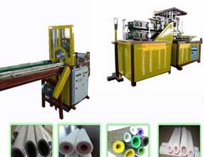PEF/XPE Tube Rolling Machine