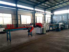 EPE foam pipe rod machine