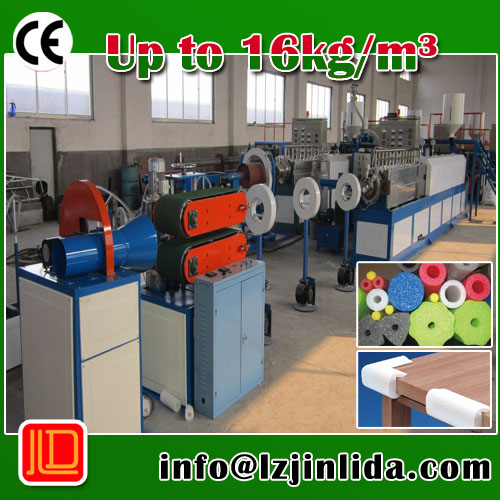 EPE Pipe/Bar/rod/profile machine