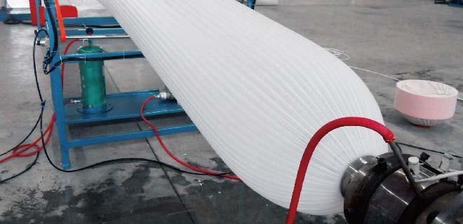 EPE banana bag foam extruder
