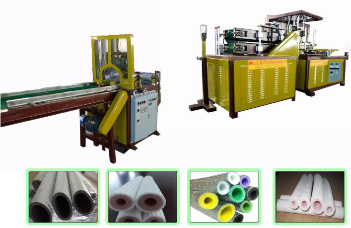 PEF/XPE Tube Rolling Machine