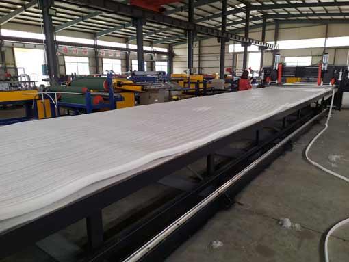 XPE Mat Broadside Cutting Machine for XPE Foam Wrestling Rollout Tatami Judo Mat